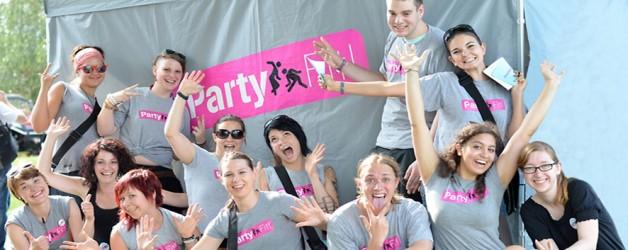 PartyFit! am Donauinselfest!