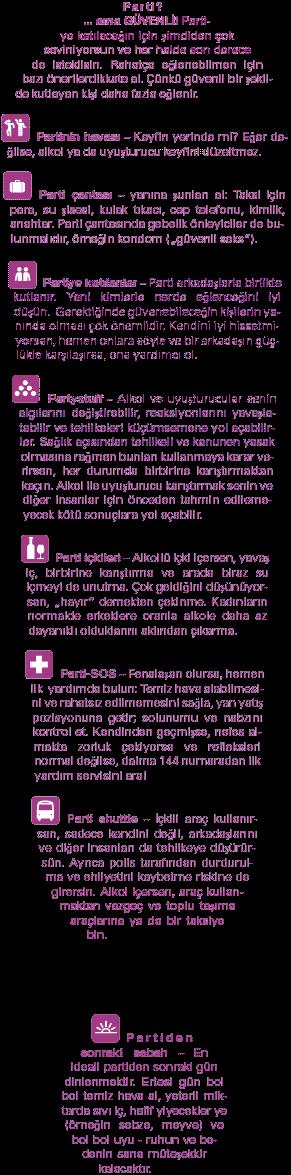 Safer Party Guid Türkisch