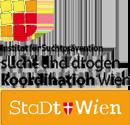 Logo Institut für Suchtprävention der Sucht- und Drogenkoordination Wien gemeinnützige GmbH
